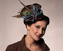 Melissa A. Bolin of Kitty Andrews Millinery