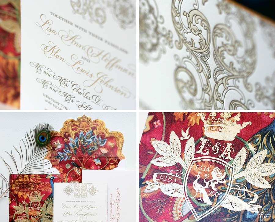 Luxury Wedding Invitations by Ceci New York - Our Muse - Old World Spanish Wedding Wedding Invitations - Be inspired by Ceci Johnson and Alan's romantic wedding in Old San Juan, Puerto Rico - die cutting, digital printing, foil stamping, hand calligraphy, invitations, letterpress printing, watercolor painting, wedding