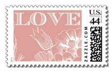 LOVE BLOSSOMS B STAMP*