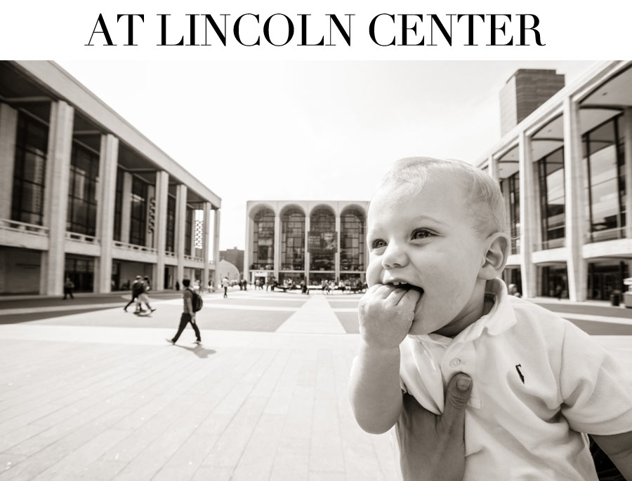 Ceci Johnson of Ceci New York - Baby Mason in the City - At Lincoln Center