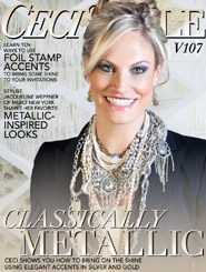 CeciStyle Magazine V107: Classically Metallic