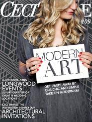 CeciStyle Magazine v109: Modern Art