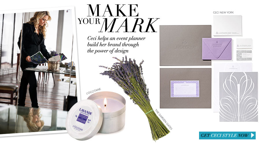 Make Your Mark - Ceci helps an event planner build her brand through the power of design