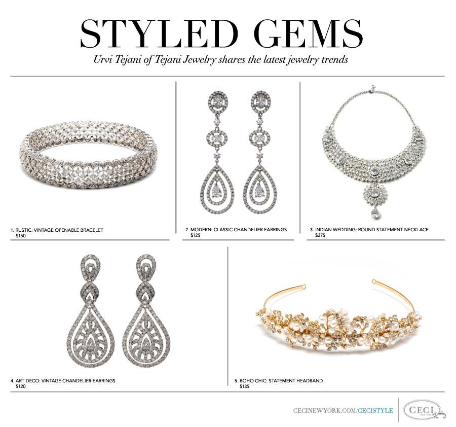 Styled Gems - Urvi Tejani of Tejani Jewelry shares the latest jewelry trends
