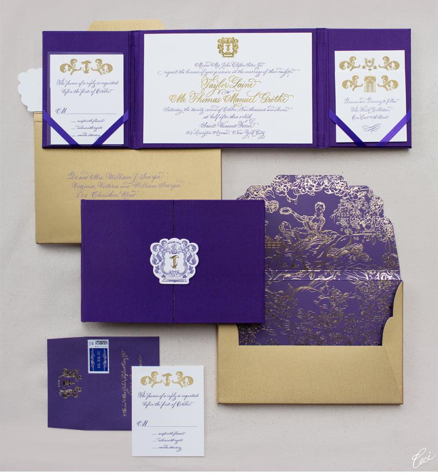 Count Of Monte Cristo Wedding Invitation Was Perfect Invitations Sample