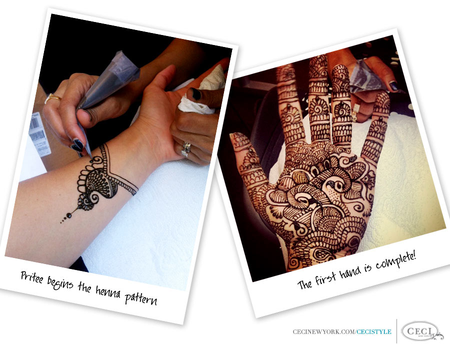 Indian Art- Pritee Shah of Mehendi Styling explains the artistry and technique behind henna