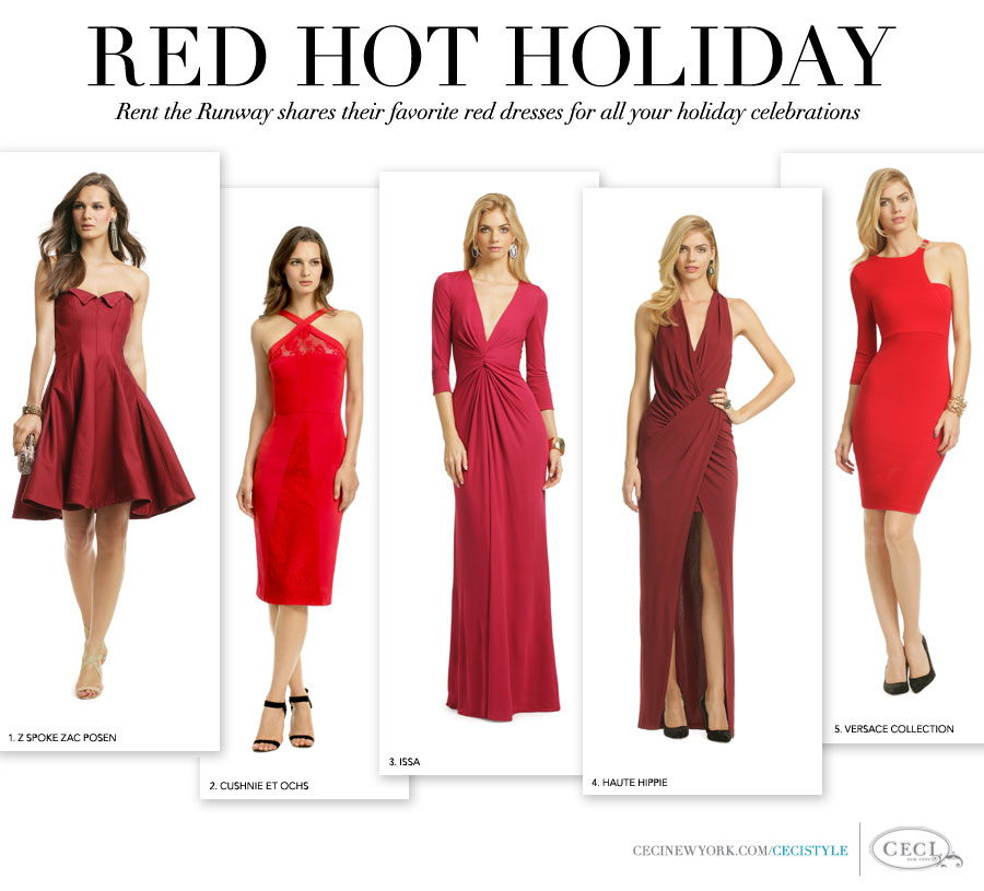 Designer Holiday Dresses
