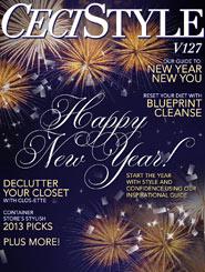 CeciStyle Magazine v127: Happy New Year!