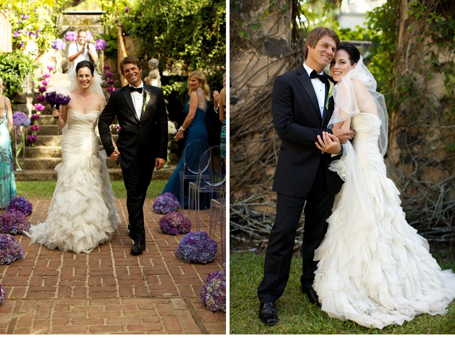 Our Muse - Purple Ombre Wedding - Be inspired by Nicole & Chauncey's purple ombre wedding in Hawaii - wedding