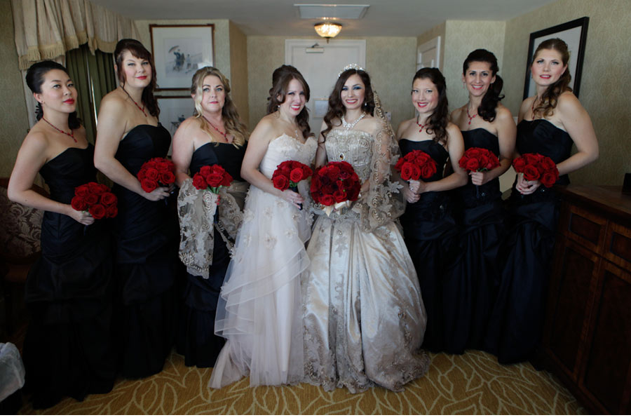 Our Muse - Masquerade Wedding - Be inspired by Athena & Michael's masquerade wedding in San Francisco - wedding
