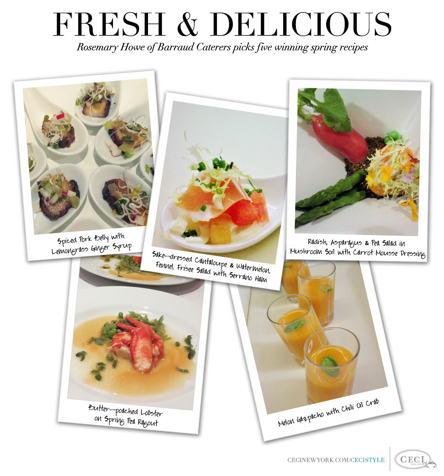 Fresh & Delicious - Rosemary Howe of Barraud Caterers picks five winning spring recipes