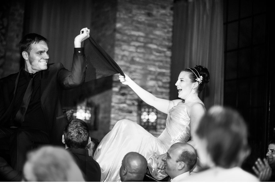 Our Muse - Modern Black & White Wedding - Be inspired by Lauren & Joseph's modern black and white wedding - wedding