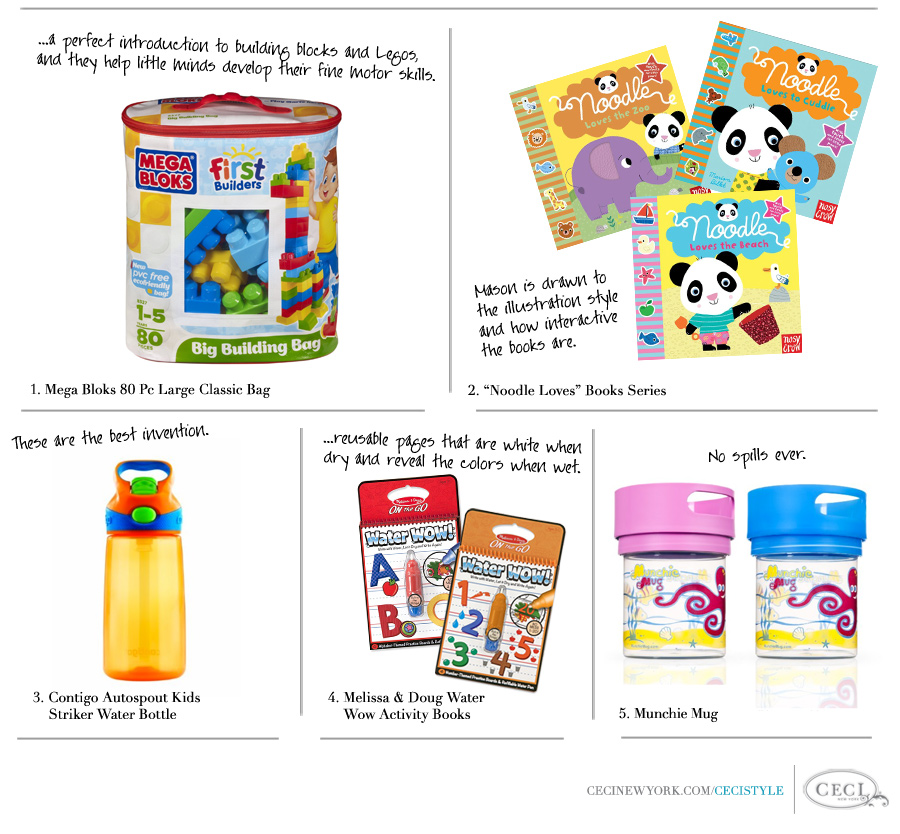 Toddler in Tow - Ceci Johnson's favorite products for 1-2 year olds