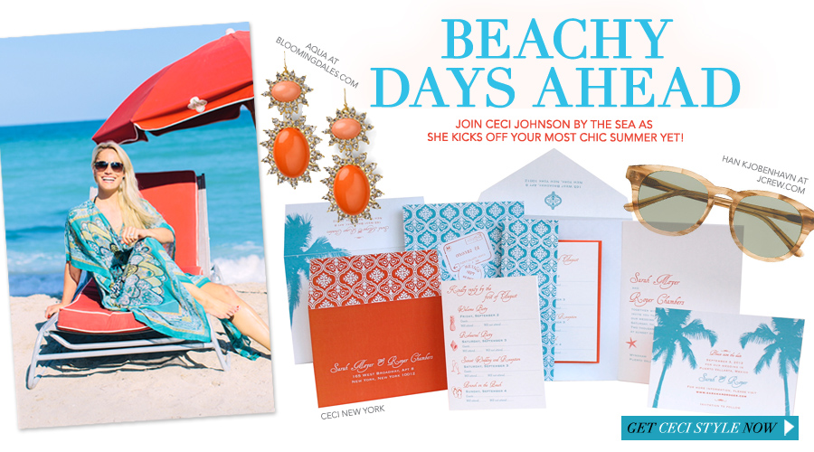 Beachy Days Ahead - Join Ceci Johnson by the sea as she kicks off your most chic summer yet!