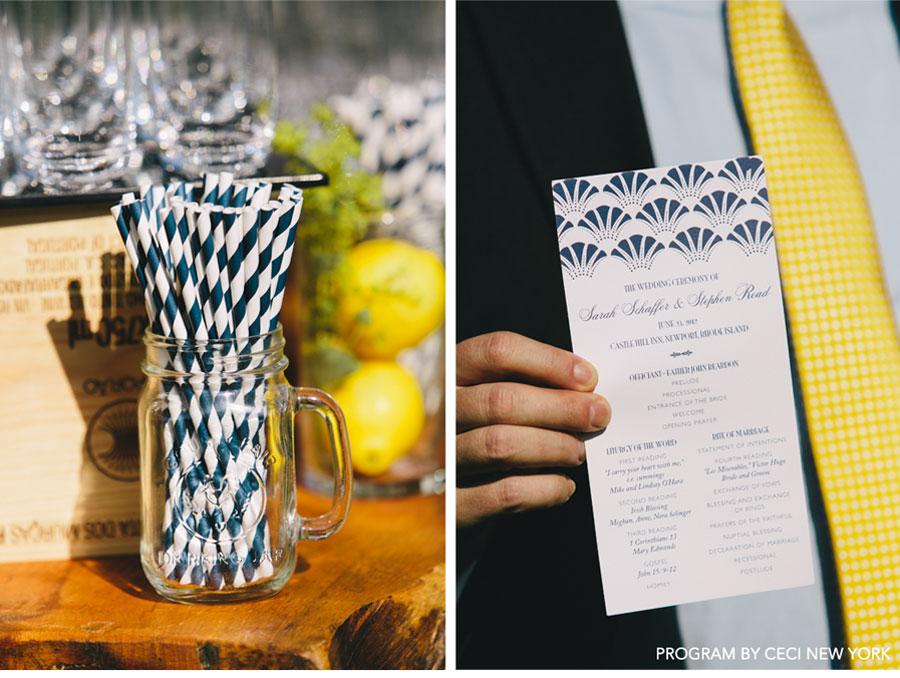 Our Muse - 1920's-Inspired Outdoor Wedding - Be inspired by Sarah &#038; Stephens 1920s style outdoor wedding - wedding, programs