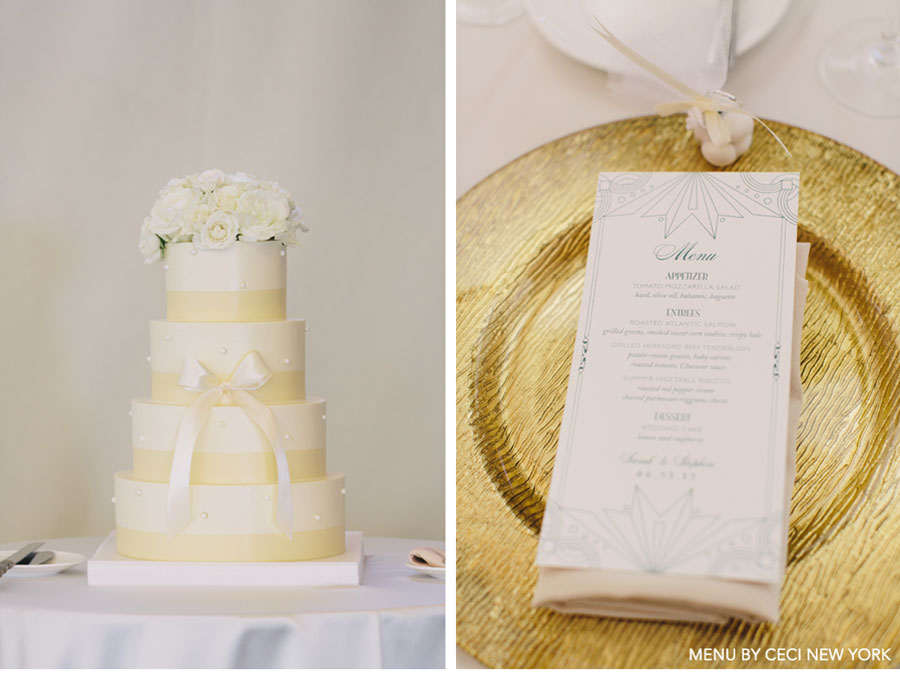Our Muse - 1920's-Inspired Outdoor Wedding - Be inspired by Sarah &#038; Stephens 1920s style outdoor wedding - wedding, menus