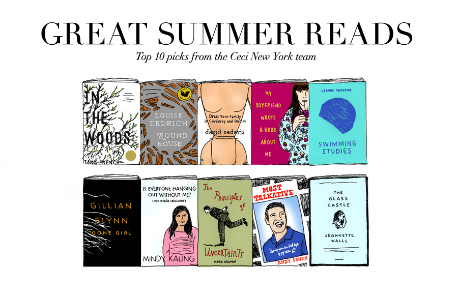 Great Summer Reads - Top 10 picks from the Ceci New York team