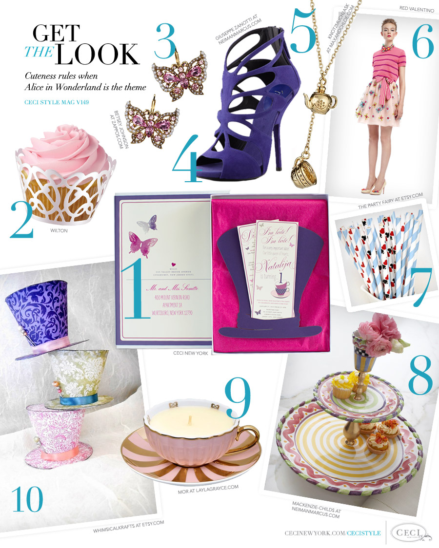 V149: Get the Look - Tea Party Madness — Ceci Style