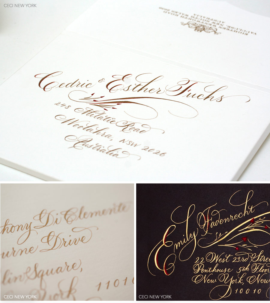 V151 Our Muse The Art Of Calligraphy Wedding