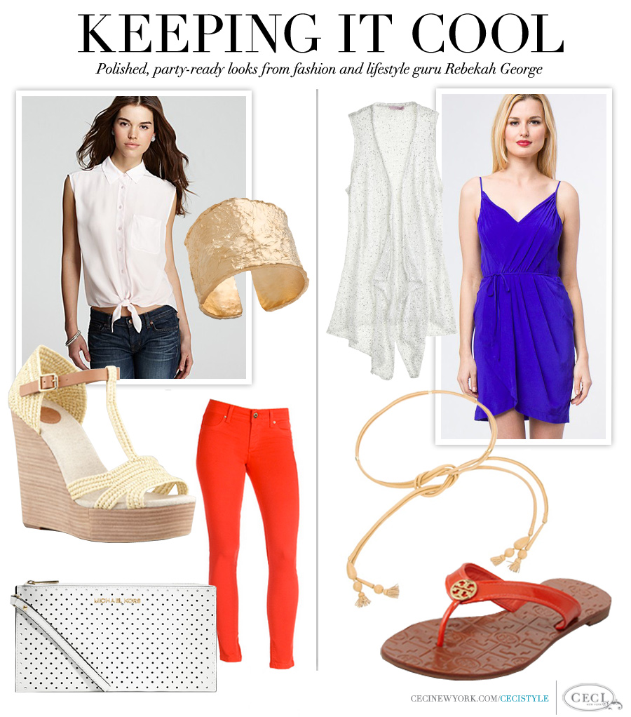 Keeping It Cool - Polished, party-ready looks from fashion and lifestyle guru Rebekah George