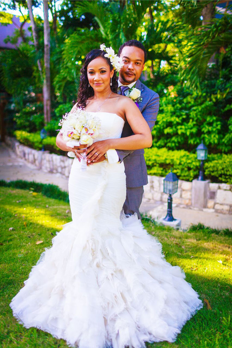 Wedding Dress For   In Jamaica : By michelle william s tropical jamaican wedding programs