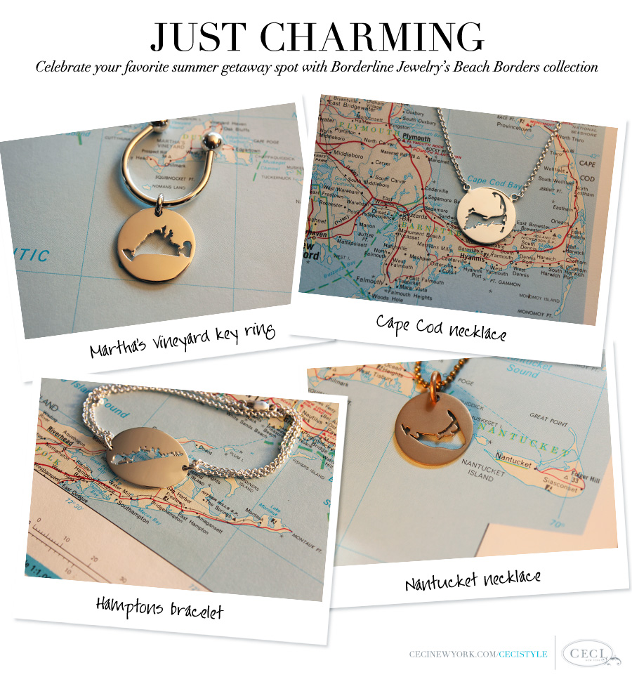 Just Charming - Celebrate your favorite summer getaway spot with Borderline Jewelry's Beach Borders collection