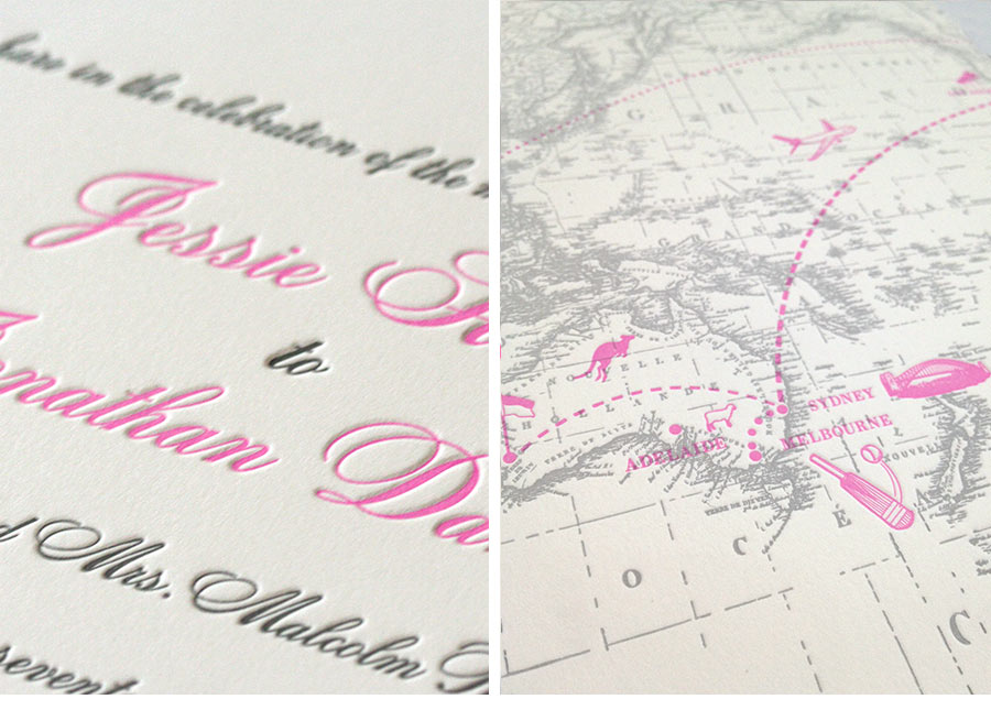 Luxury Wedding Invitations by Ceci New York - Our Muse - Sweet Seaside Wedding in Pink and Gray - Be inspired by Jessie & Jonathan's sweet beach wedding on Long Island - Ceci New York Luxury Wedding Invitations - invitations, letterpress printing, offset printing, wedding