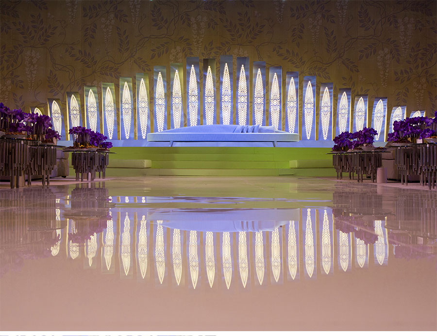 Our Muse - Modern Luxury Middle Eastern Wedding - Be inspired by a luxurious, modern Middle Eastern wedding in shades of purple and white - wedding, designlab events