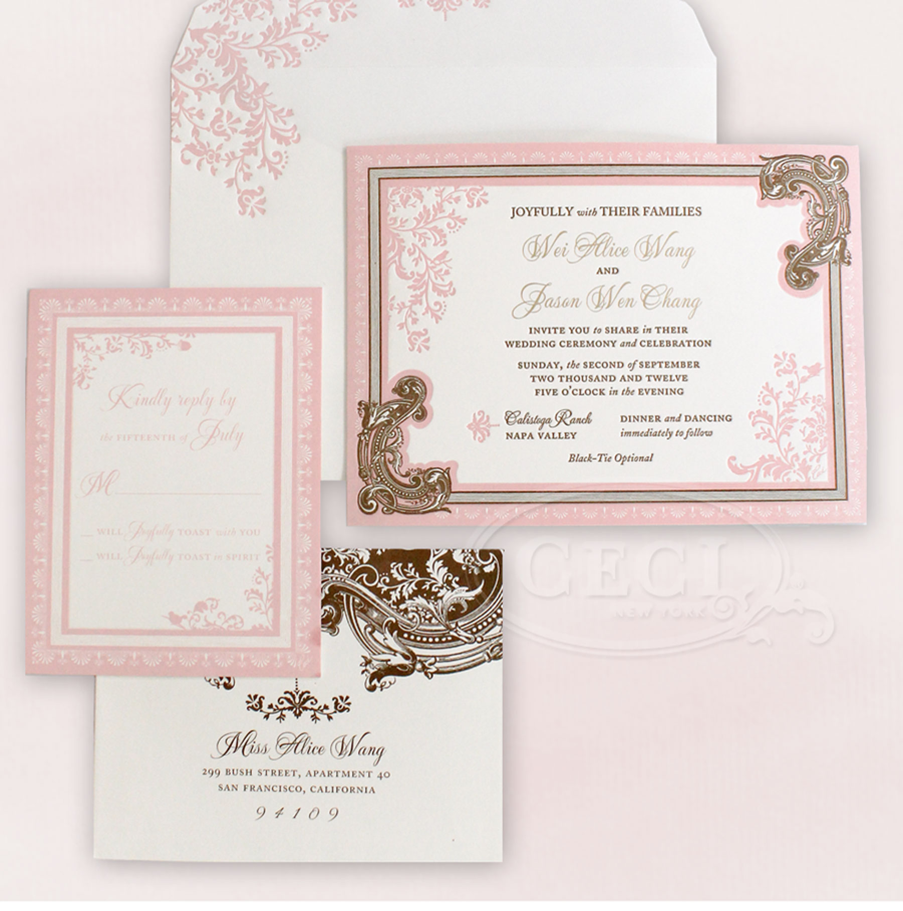 v165 our muse elegant ornate wedding alice and jason, part 1 Luxury Elegant Wedding Invitations luxury wedding invitations by ceci new york our muse elegant ornate wedding be luxury elegant wedding invitations