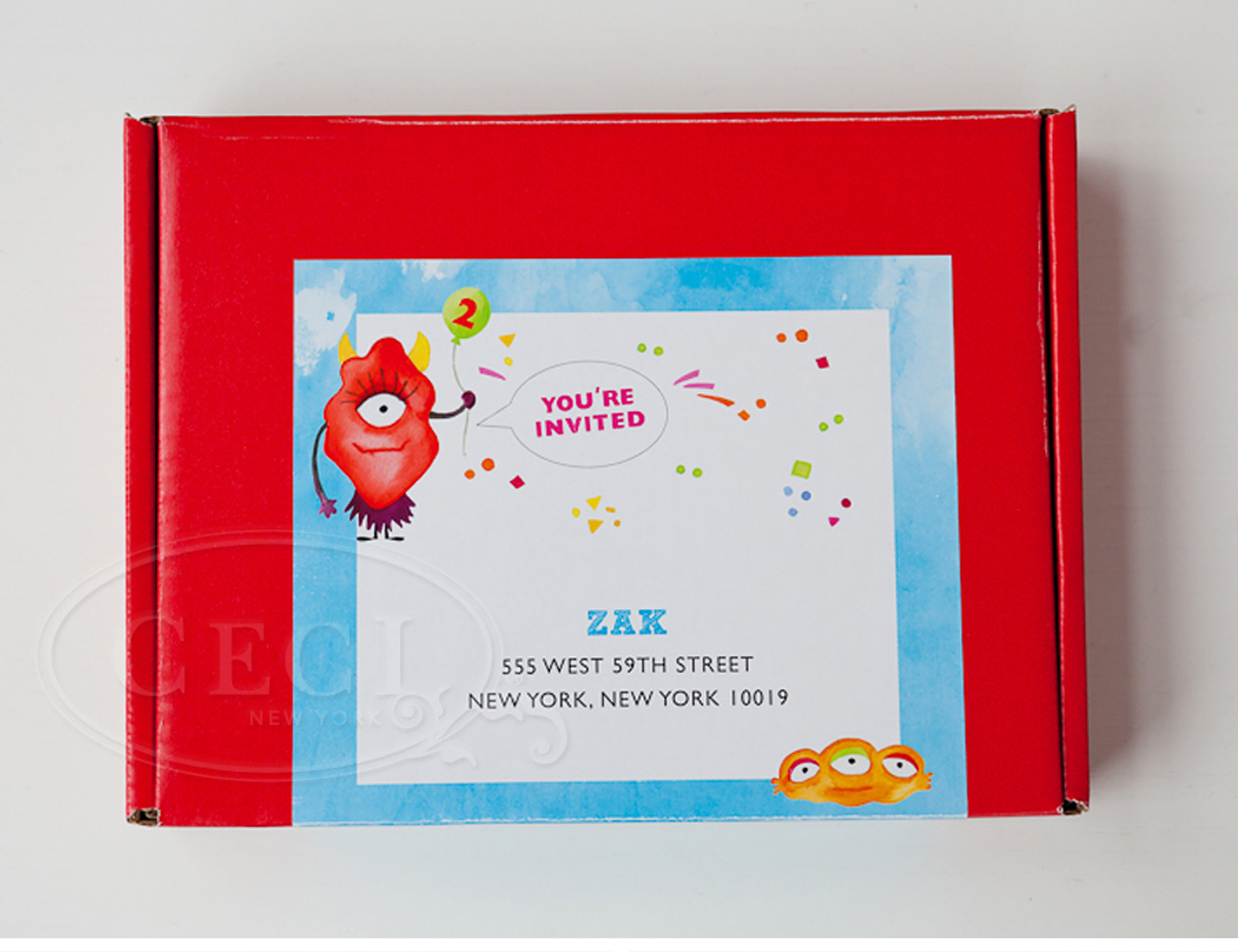 Luxury Wedding Invitations by Ceci New York - Our Muse - Monster Themed Kid's Birthday Party - Get inspired for your child's next birthday party with these fun ideas from Ceci Johnson of Ceci New York! - ceci johnson, birthday party, monster theme
