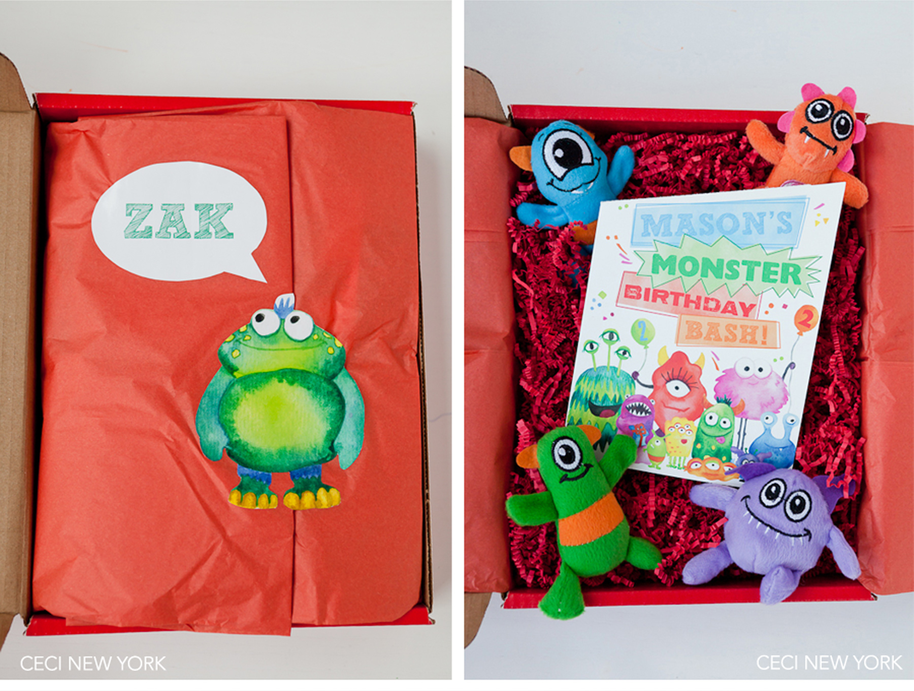 Luxury Wedding Invitations by Ceci New York - Our Muse - Monster Themed Kid's Birthday Party - Get inspired for your child's next birthday party with these fun ideas from Ceci Johnson of Ceci New York! - Ceci New York Luxury Wedding Invitations - ceci johnson, birthday party, monster theme