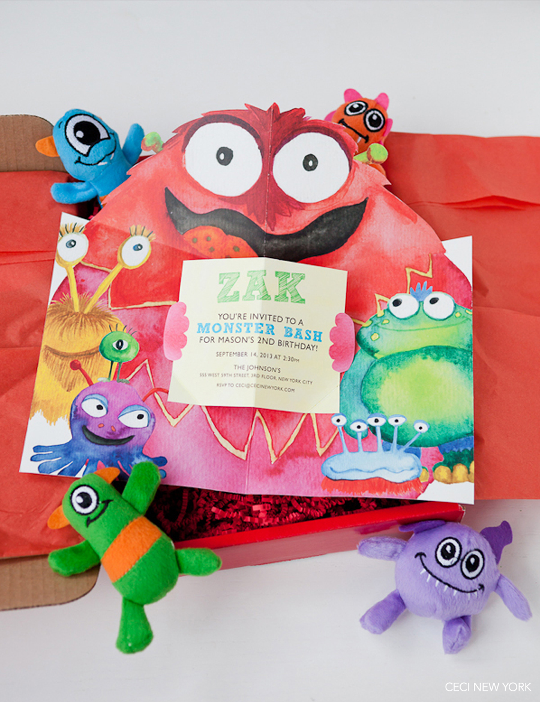 V168: Our Muse - Monster Themed Kid\'s Birthday Party: Part 1 — Ceci ...
