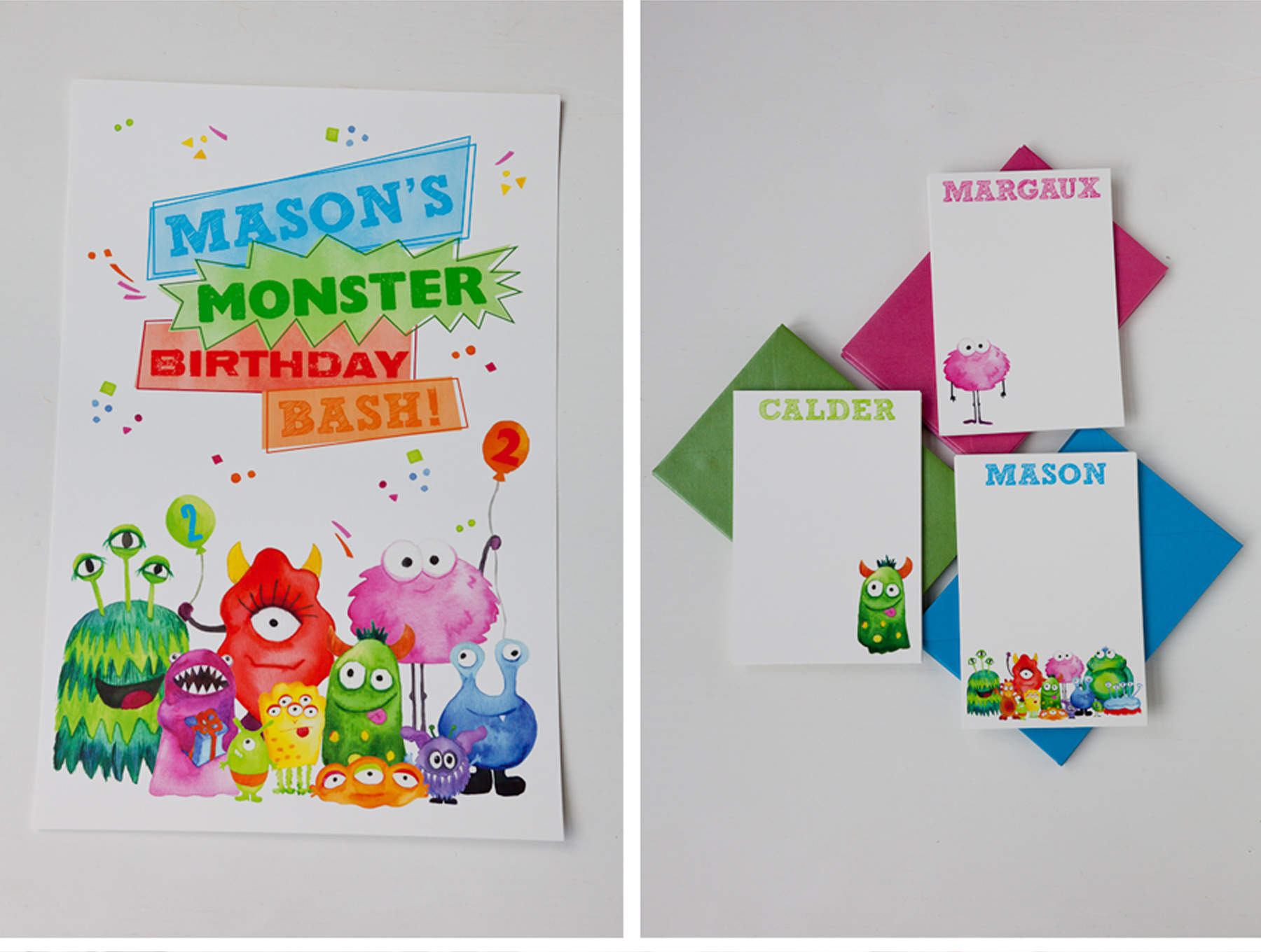 V168: Our Muse - Monster Themed Kid\'s Birthday Party: Part 2 — Ceci ...