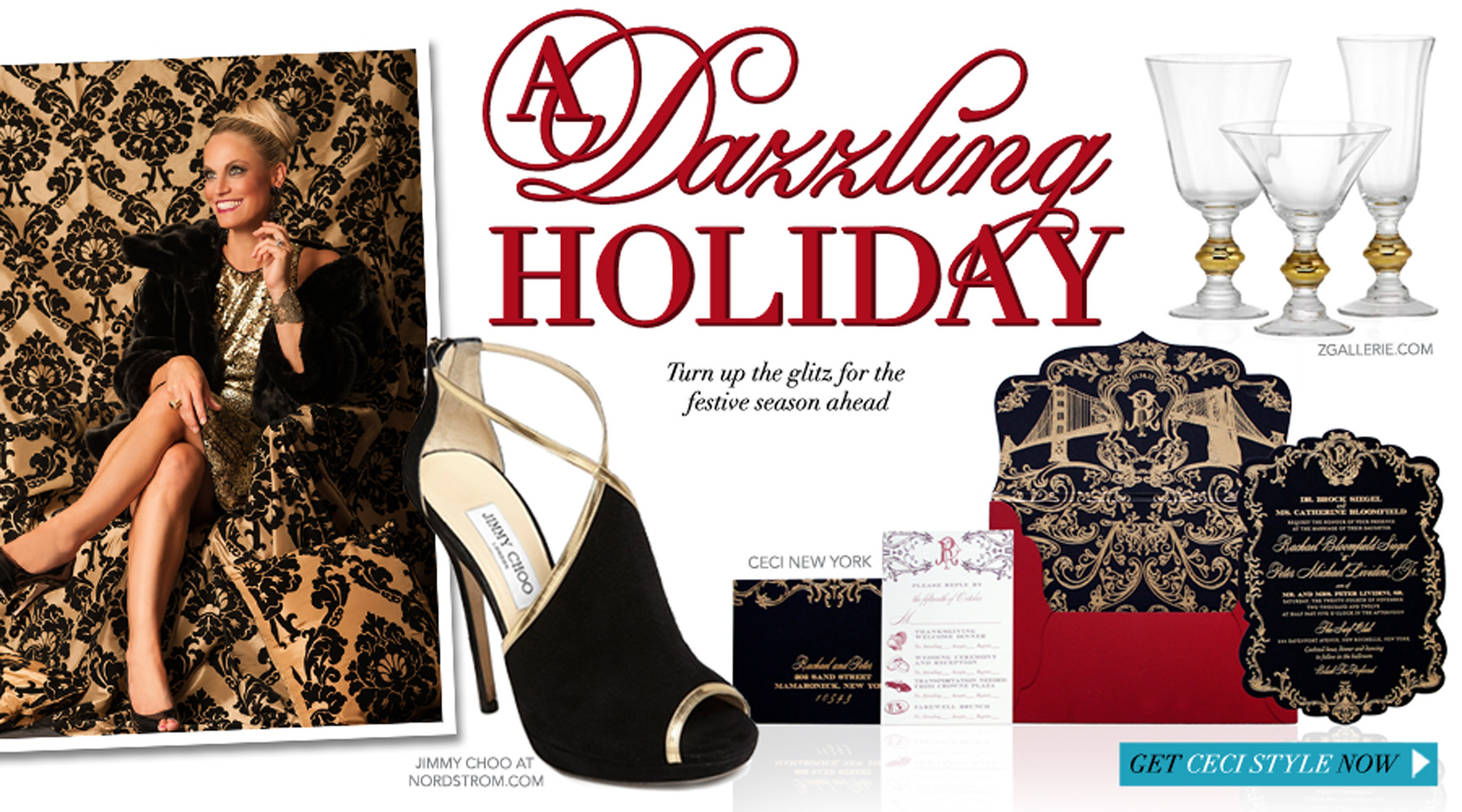 A Dazzling Holiday - Turn up the glitz for the festive season ahead