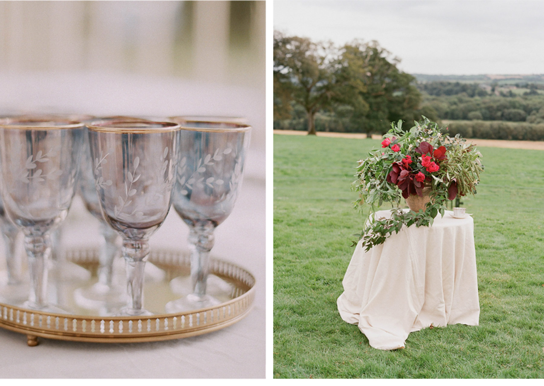 Our Muse - Old World Inspired Wedding - Be inspired by Corbin and Thatcher's romantic, vintage-influenced destination wedding in Ireland - wedding
