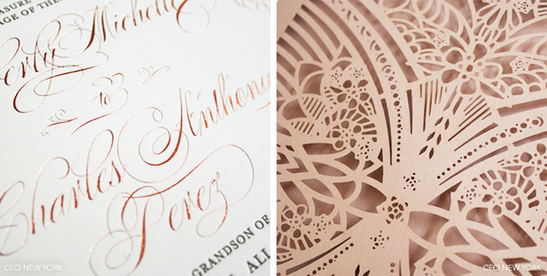 herron rose gold wedding invitations rose gold foil ivory gold and blush shimmer wedding invitation with foil printing