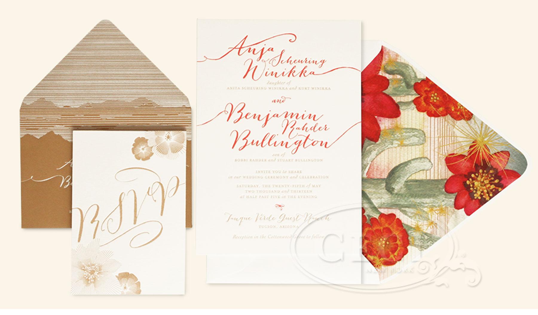 Wedding Invitations Tucson: Dreamy Desert Wedding: Anja & Ben, Part 1