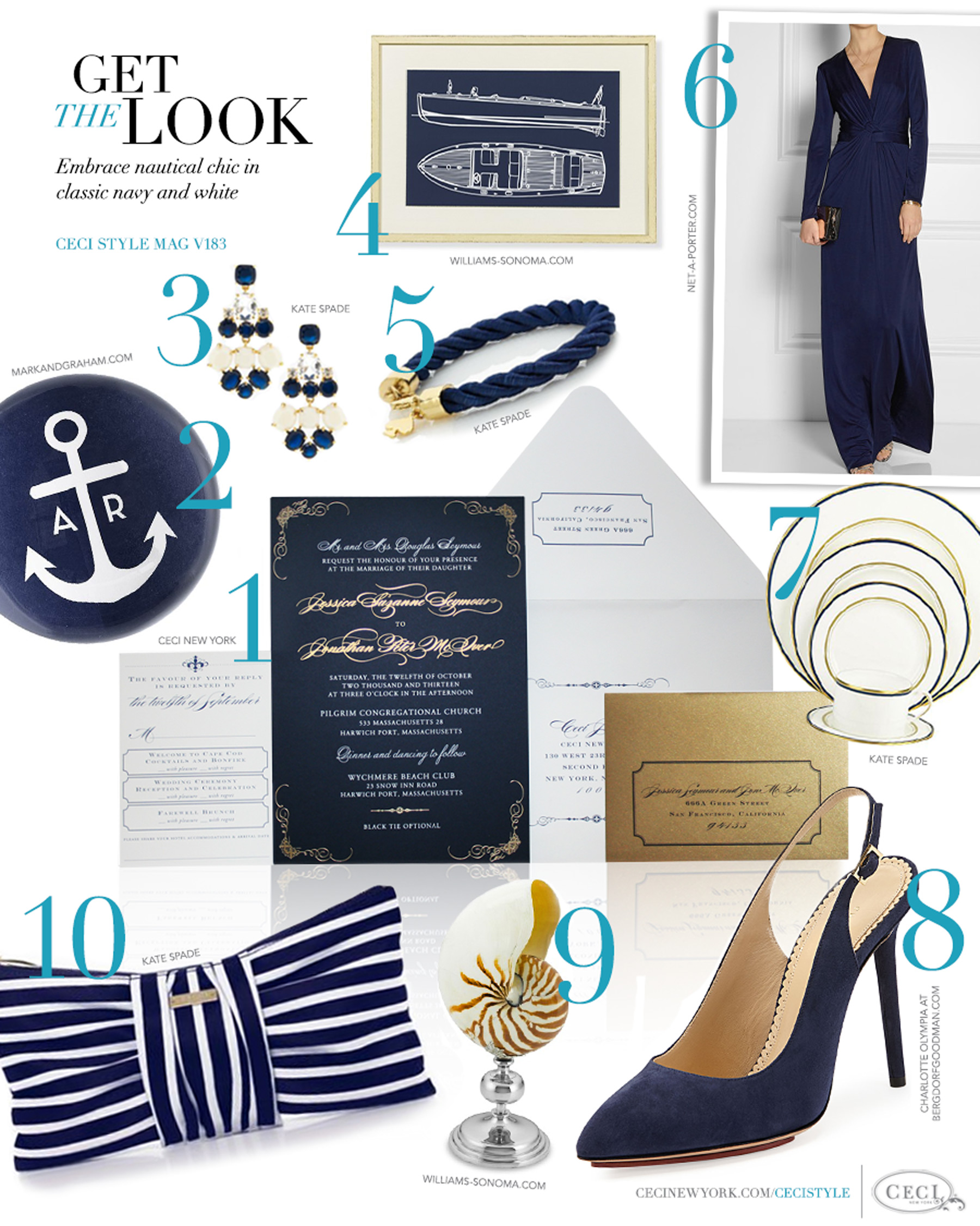 V183: Get the Look - Postcard Perfect — Ceci Style