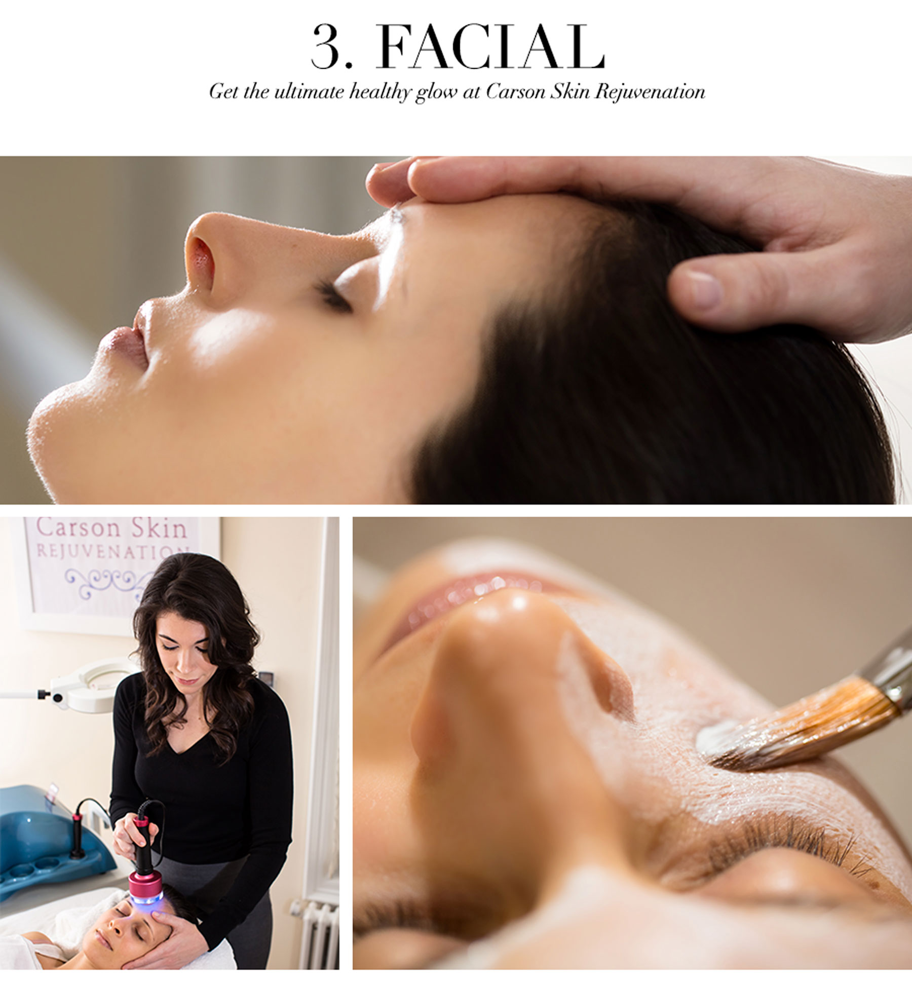 Ceci Johnson's Pamper-Yourself Picks - Facial - Get the ultimate healthy glow at Carson Skin Rejuvenation
