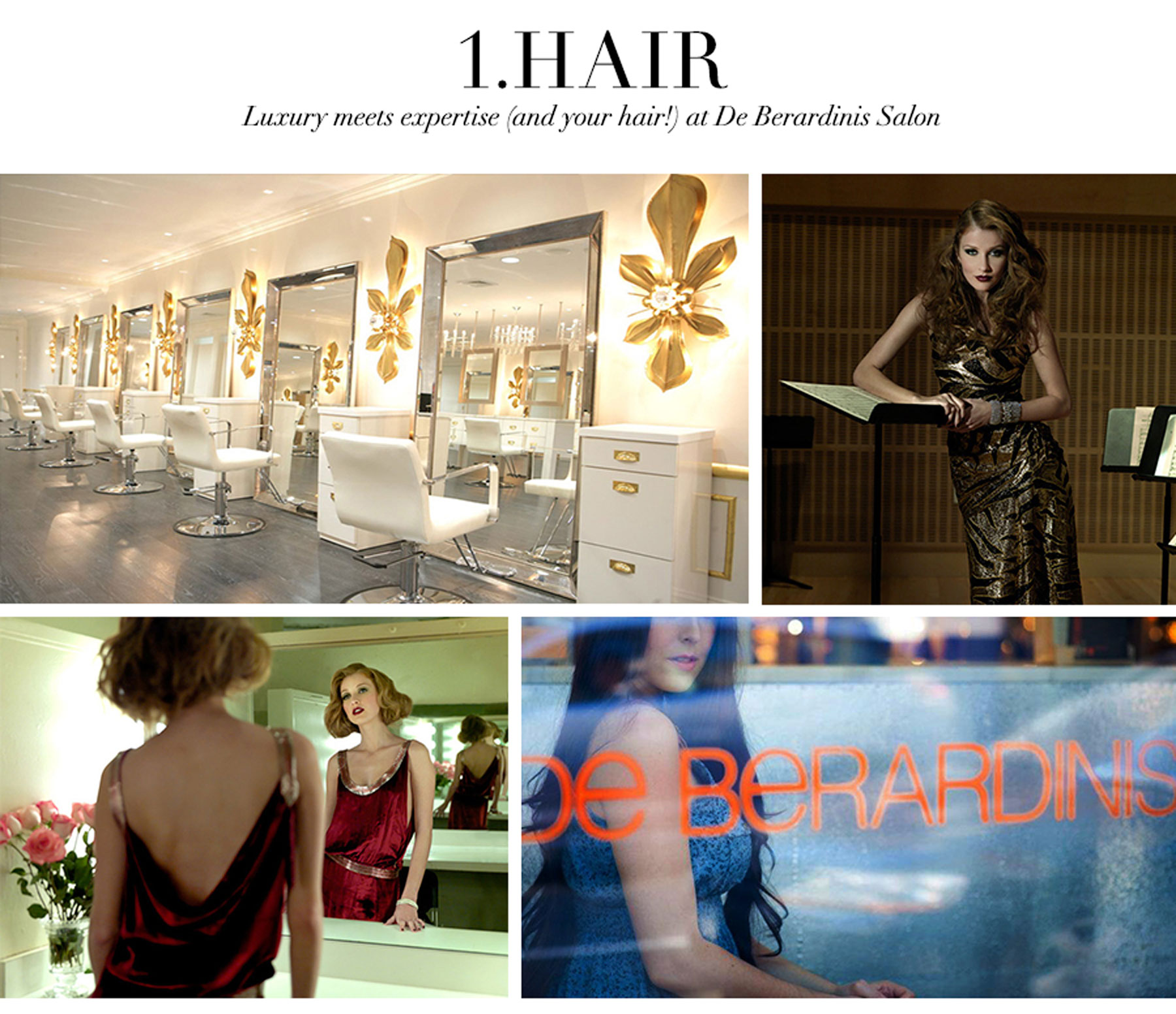 Ceci Johnson's Pamper-Yourself Picks - Hair - Luxury meets expertise (and your hair!) at De Berardinis Salon