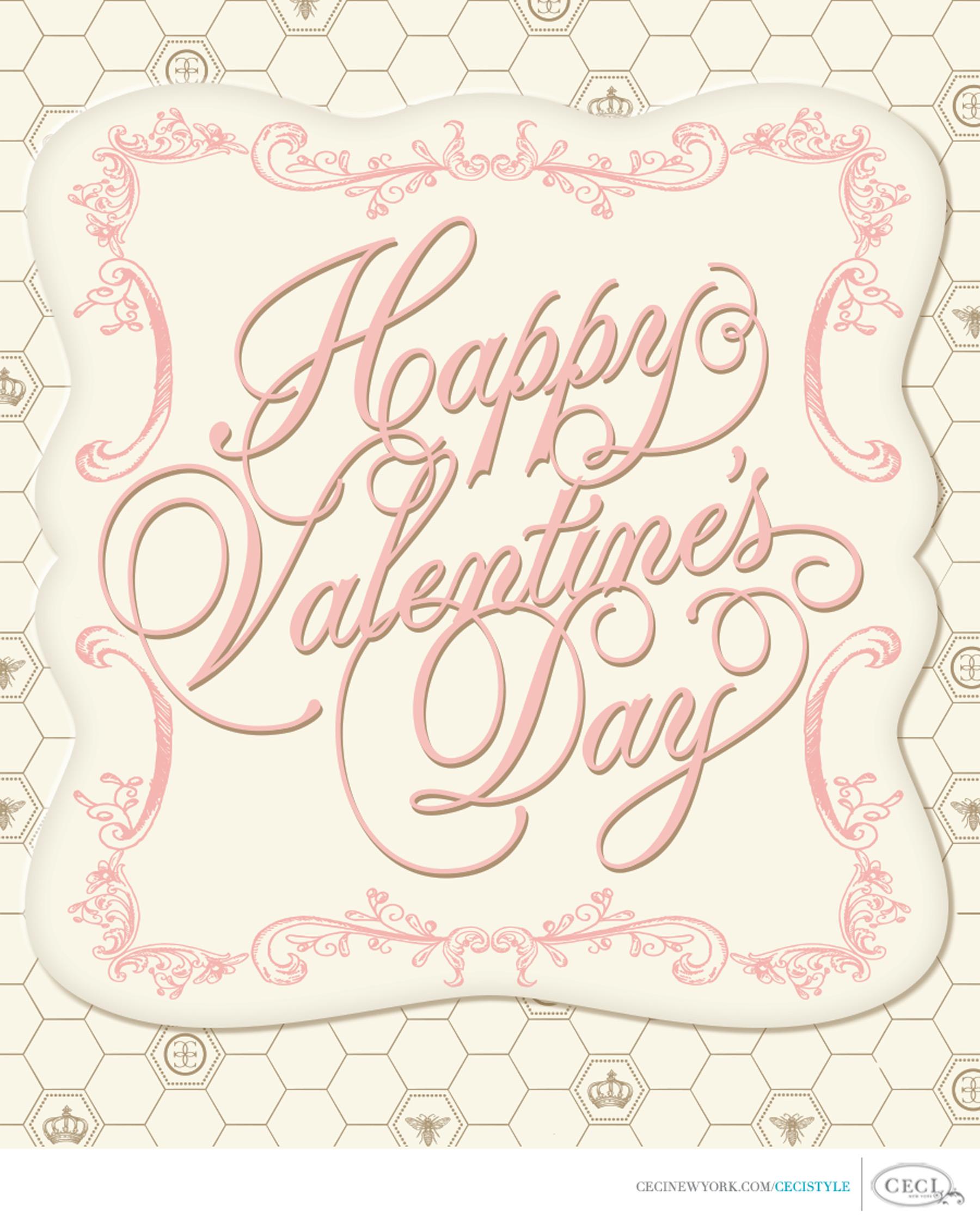 Ceci Johnson of Ceci New York - Happy Valentine's Day