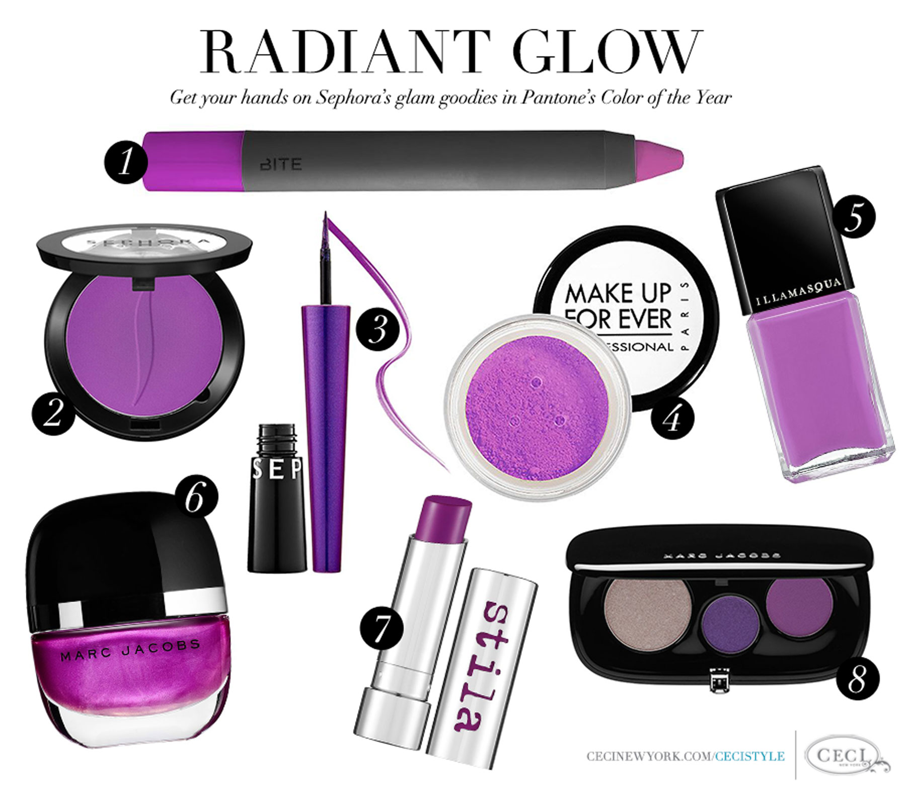 Radiant Glow - Get your hands on Sephora's glam goodies in Pantone's Color of the Year