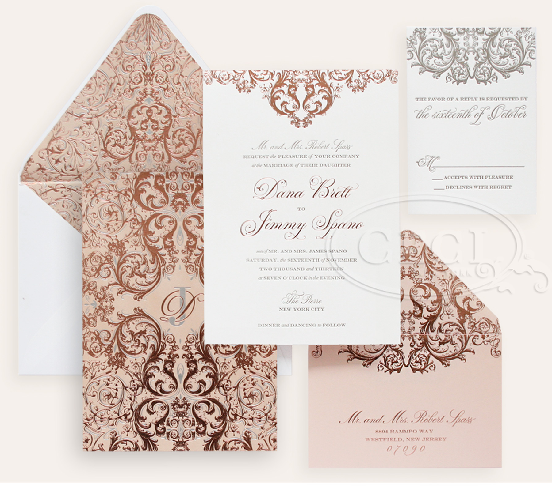 Nyc Themed Invitations is adorable invitation design