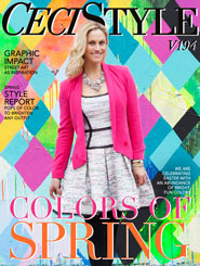 CeciStyle Magazine V194: Colors of Spring