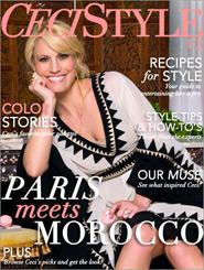 CeciStyle Magazine v2: Paris Meets Morocco