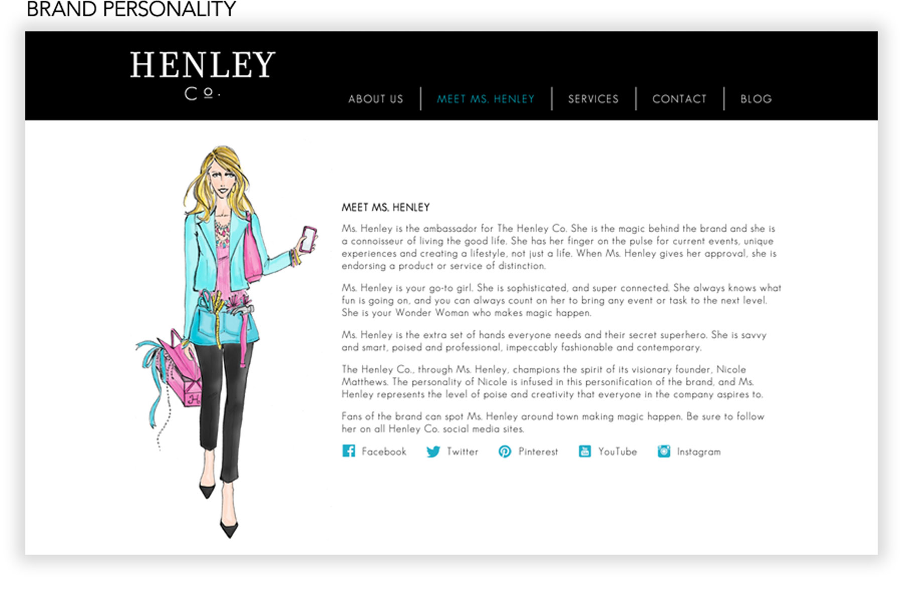V202: Our Muse - The Henley Company Branding — Ceci Style