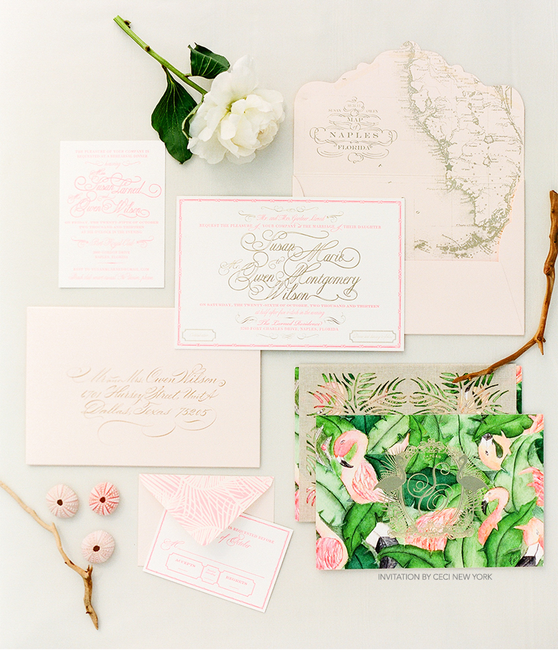 V204: Our Muse - Green and Pink Wedding: Susan & Owen, Part 1 — Ceci ...