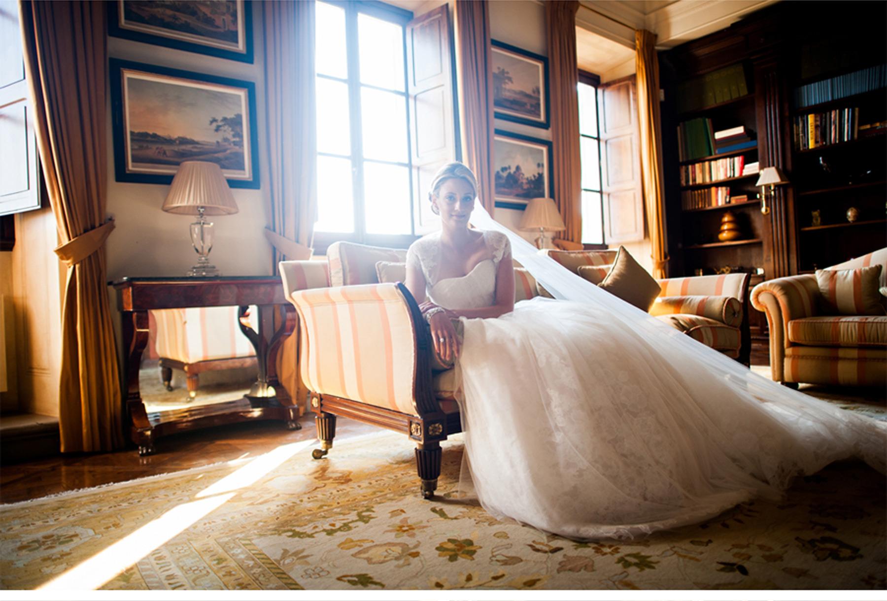 Our Muse - Italian Countryside Wedding - Be inspired by Meghan & Steven's Italian countryside wedding - wedding, luxury, italy, tuscany, il borro, ecru, garden, green, invitation, venue, inspired, getting ready, bridesmaids, bride, groom