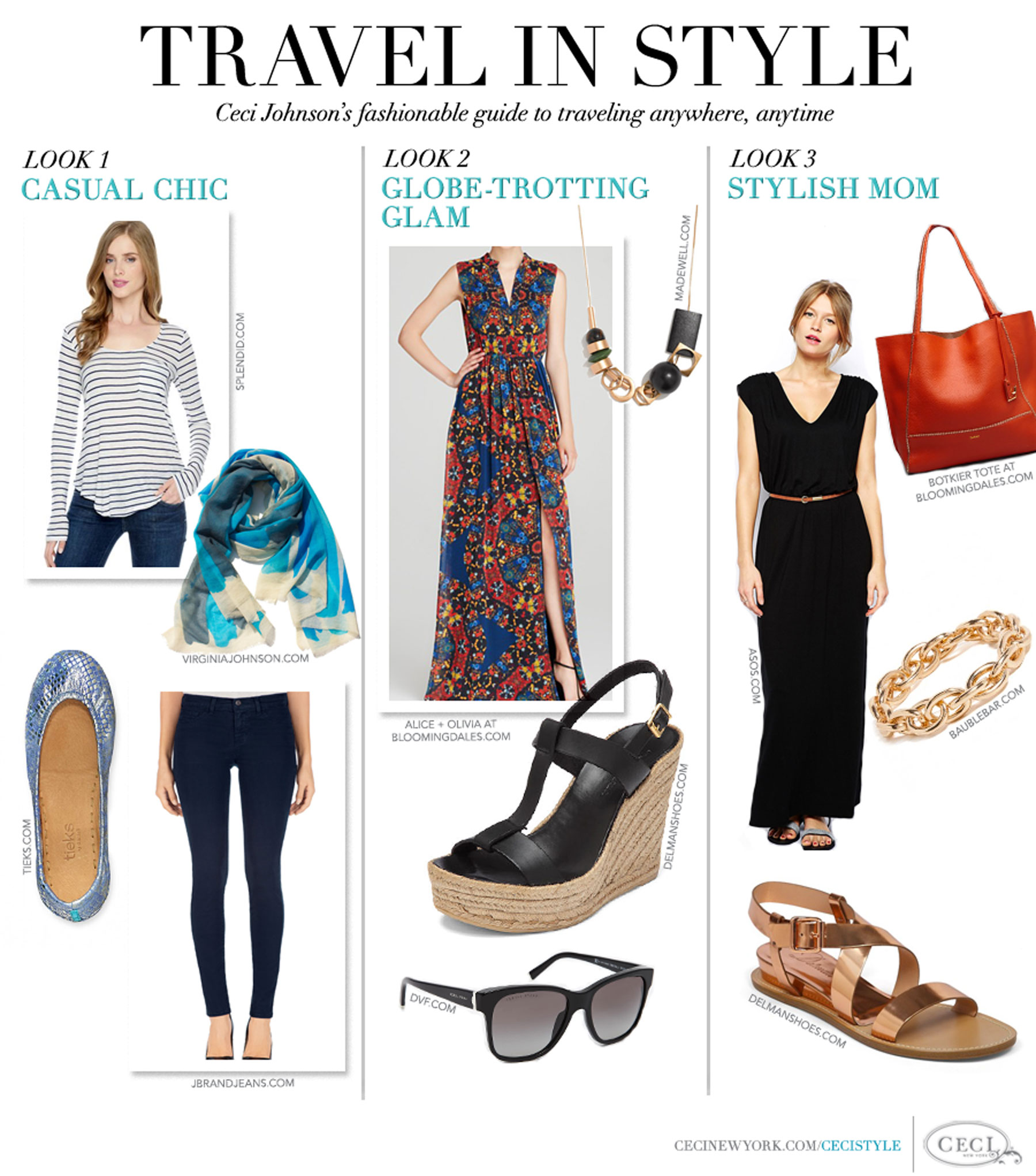 V213 Expert Style Tips Ceci Johnson 39 S Travel Inspired Looks Ceci Style