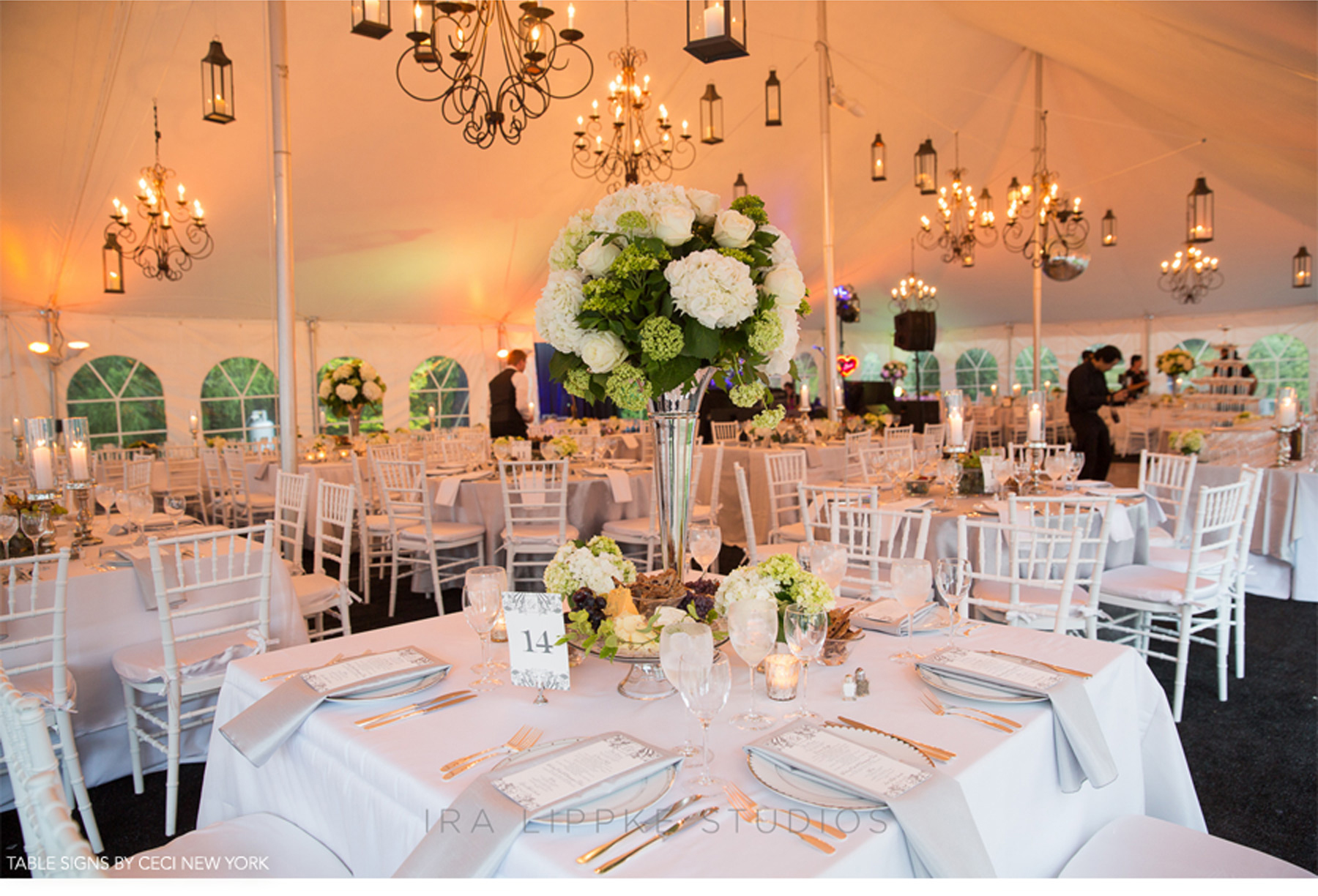 Our Muse - Chic Hamptons Wedding - Be inspired by Cornelia and Robert's chic wedding in the Hamptons - ceci new york, escort card, menu, bride, groom, chair sign, table sign, custom, design, gold, foil, letterpress, accessory, wedding, hamptons, reception, east hampton